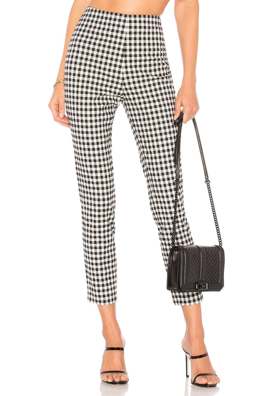 Dora Gingham Zip Pants