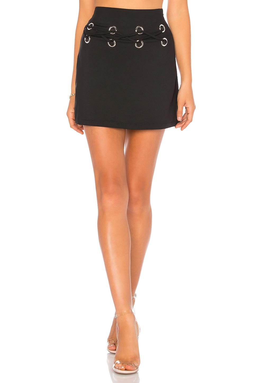by the way. Venetia Mini Skirt in Black