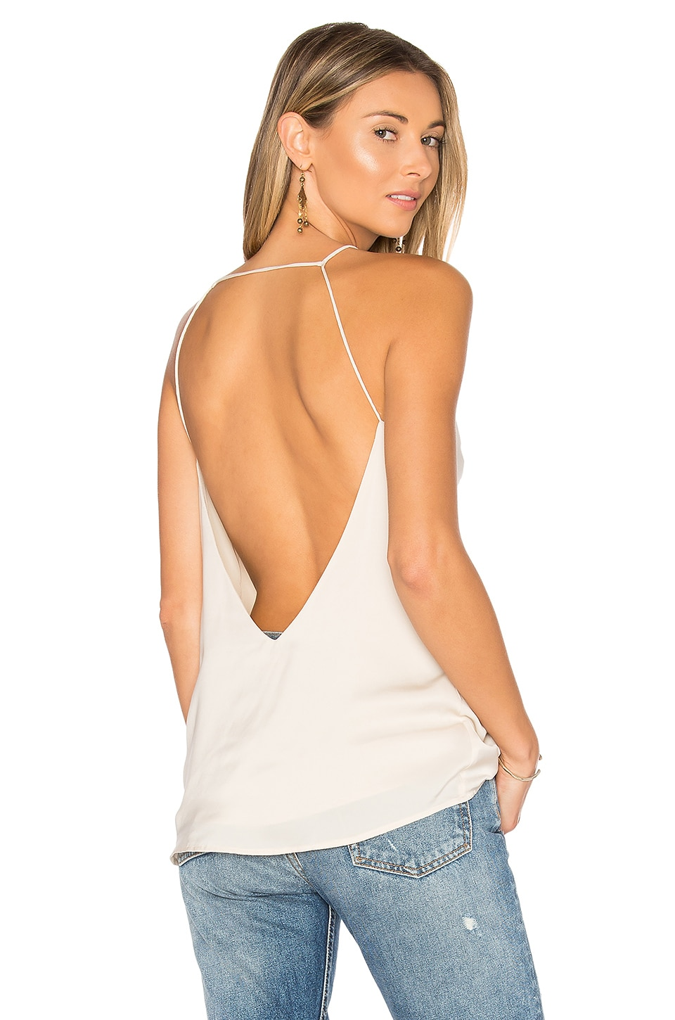 by the way. Margot Backless Cami in Cream