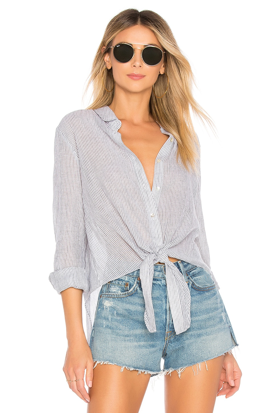 by the way. BLOUSE BOUTONNÉE CARRIE
