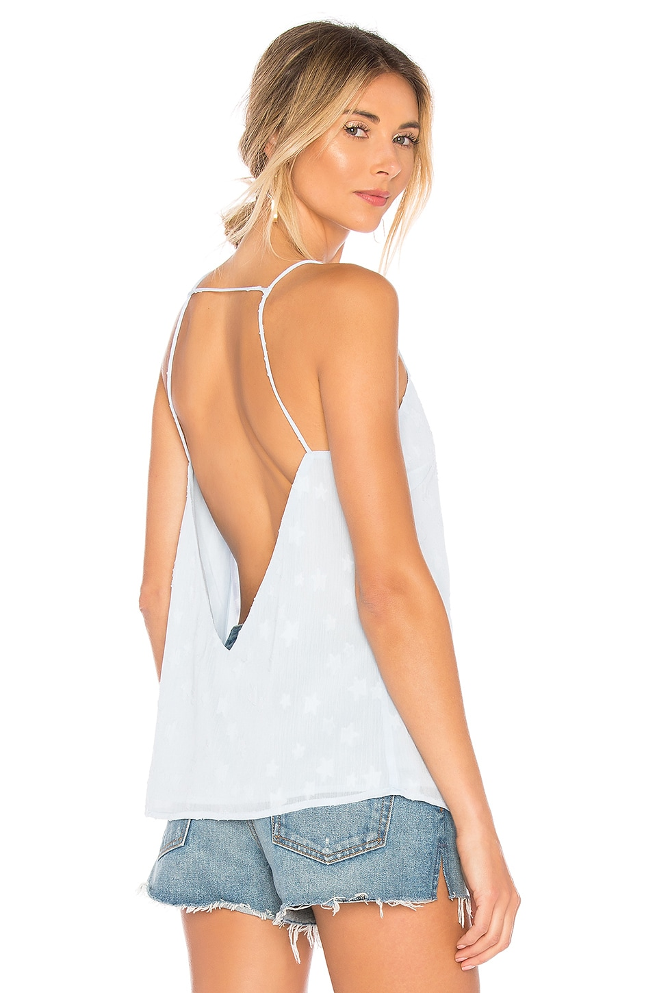 by the way. Jacey Cami Top in Light Blue