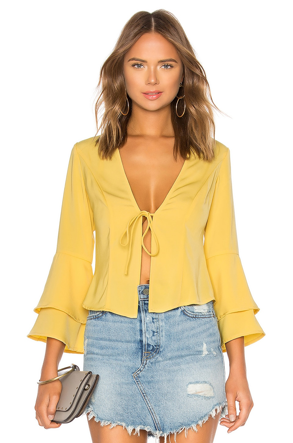 JULIA RUFFLE TOP
