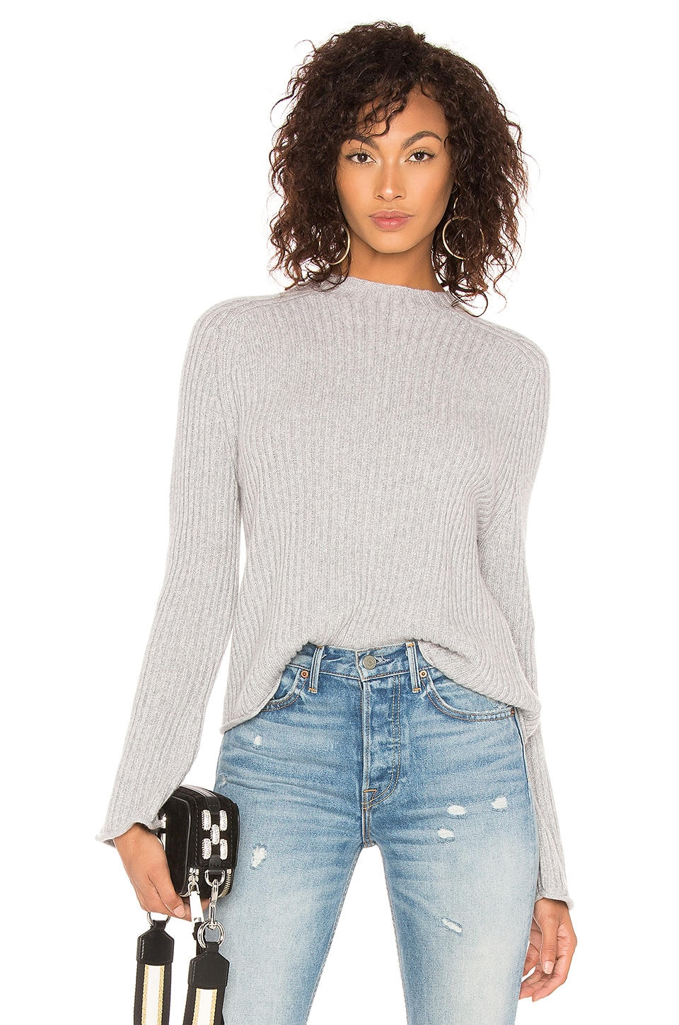 SWTR The Twisted Rib Sweater in Greyhound