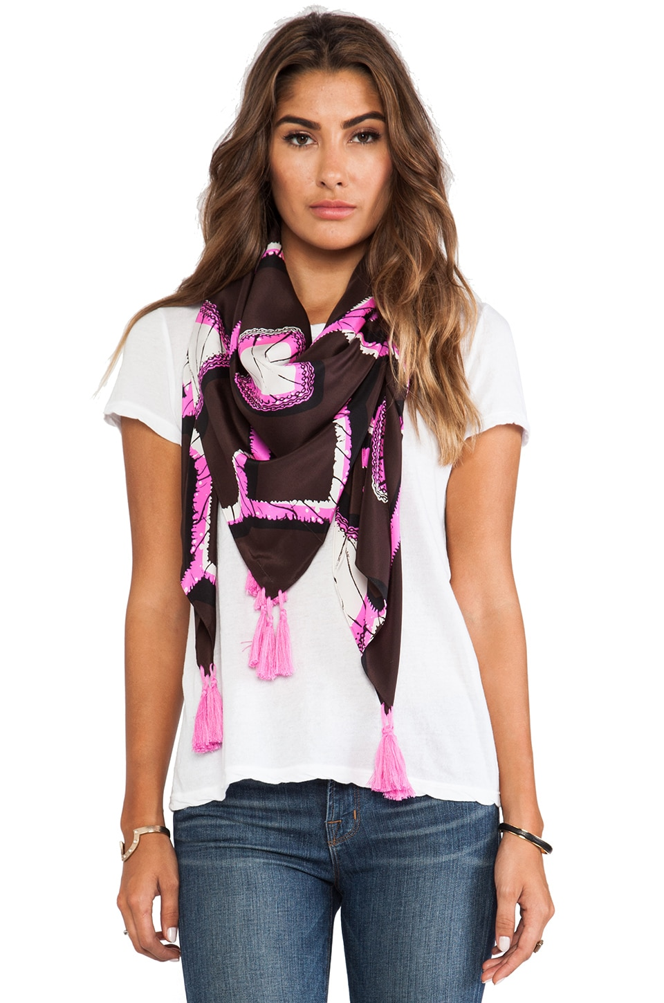 By Malene Birger Scrapie Scarf in James Brown