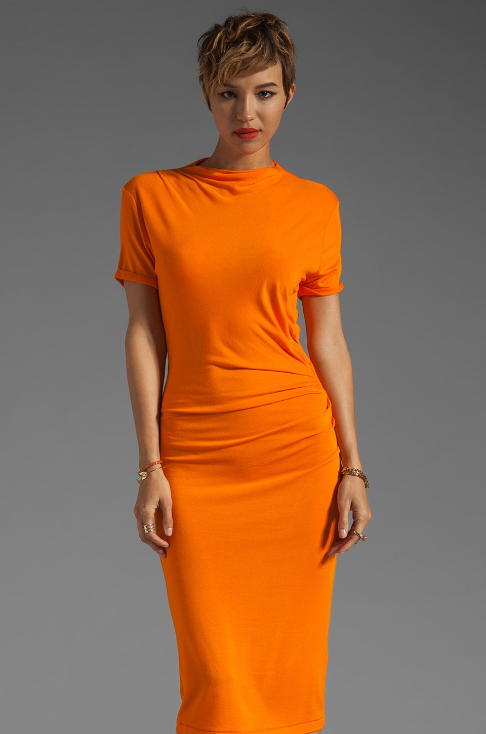By Malene Birger Soft Jersey Dusa Dress in Calendula