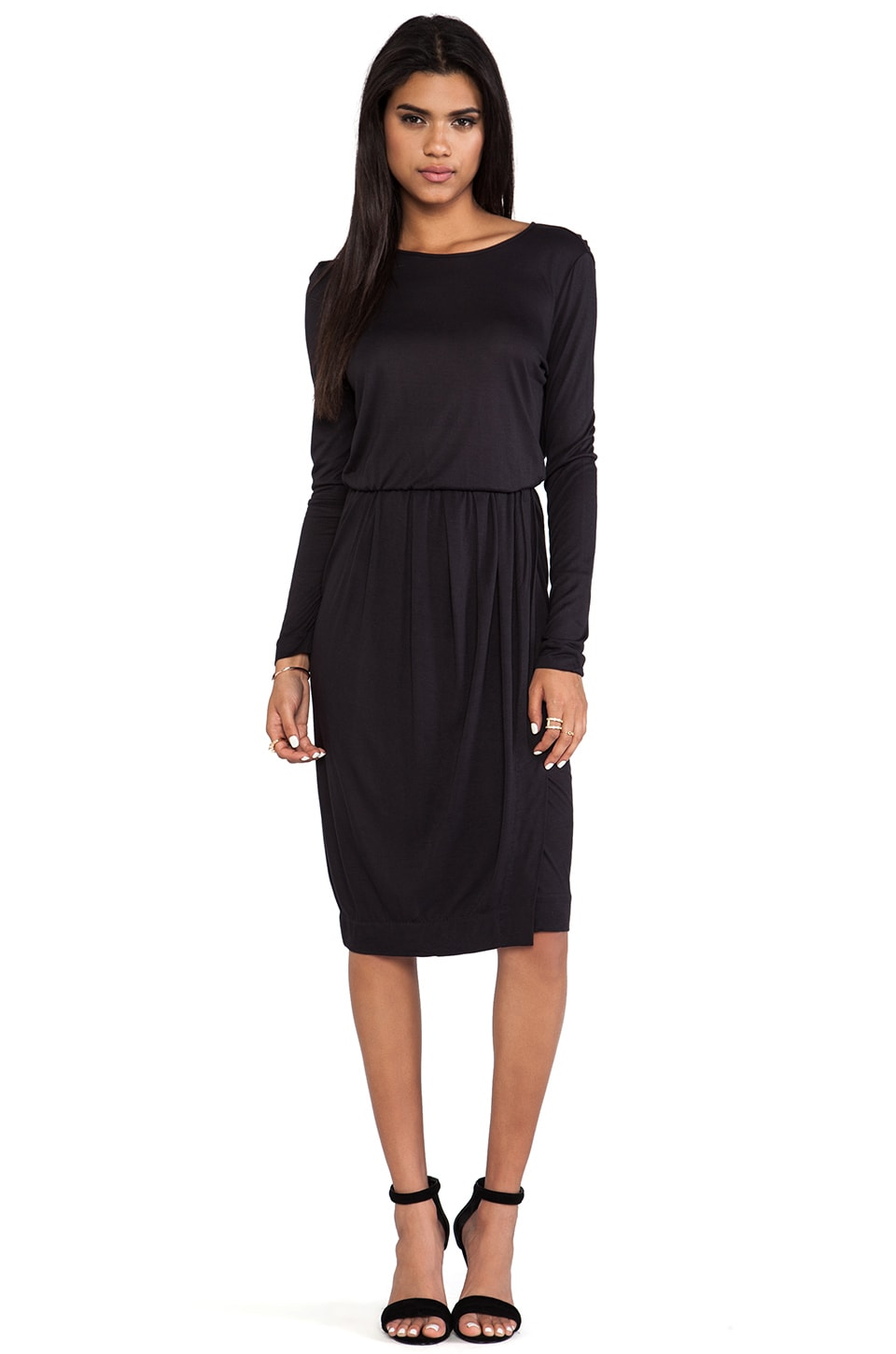 By Malene Birger Viscose Jersey Kiho Dress in Black