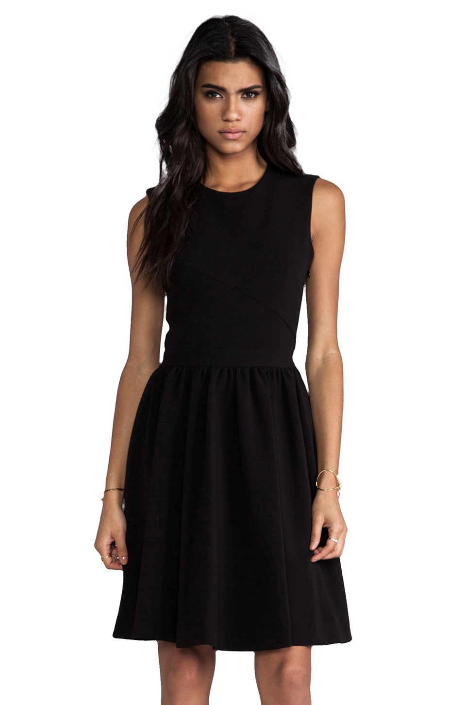 By Malene Birger Winter Crepe Imania Dress in Black