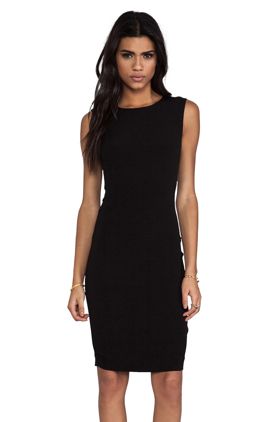By Malene Birger Sexy Stretch Takiloa Dress in Black
