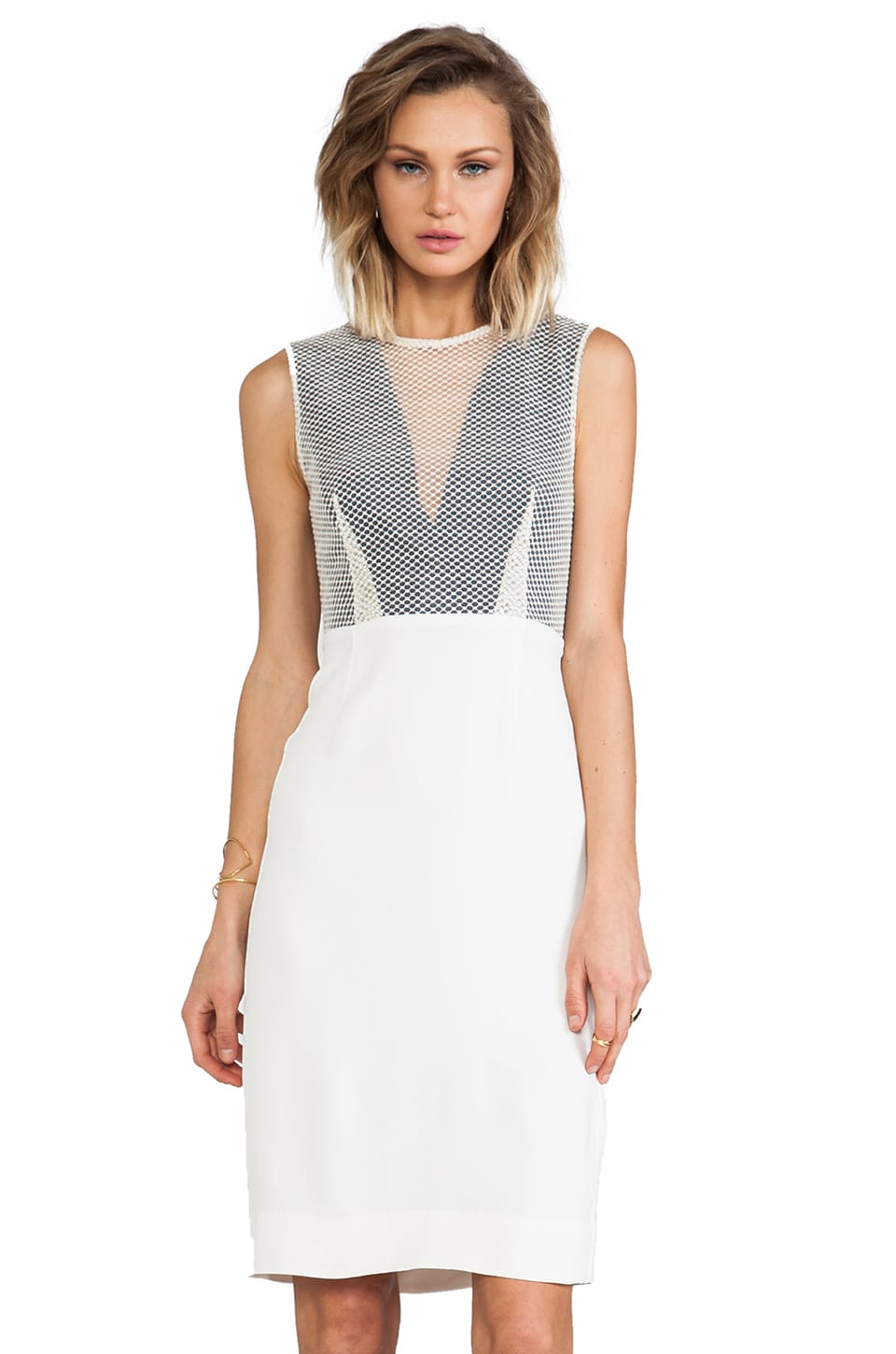 By Malene Birger Sexy Stretch Sadgati Dress in Cream