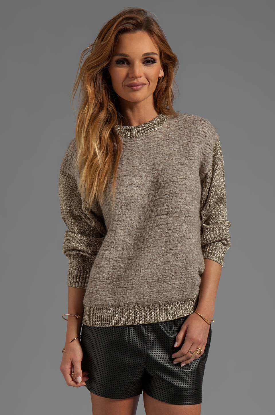 By Malene Birger City Lights Kinno Pullover in Gold