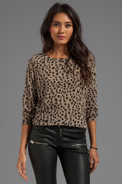 By Malene Birger Spot On Olive Sweater in Brown Melange