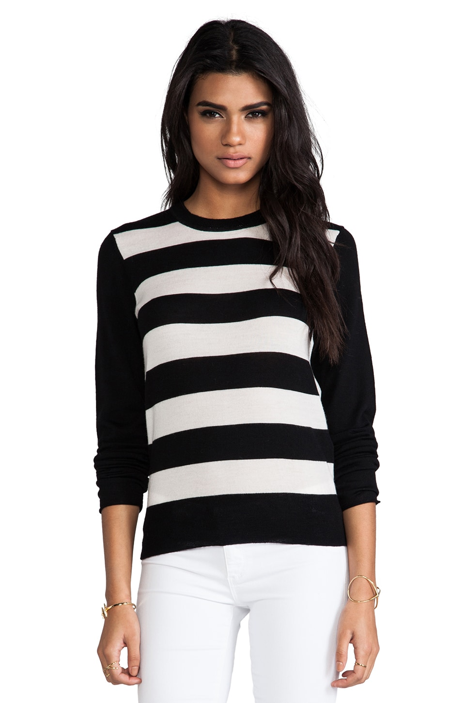 By Malene Birger Mercerized Wool Amillan Pullover in Black