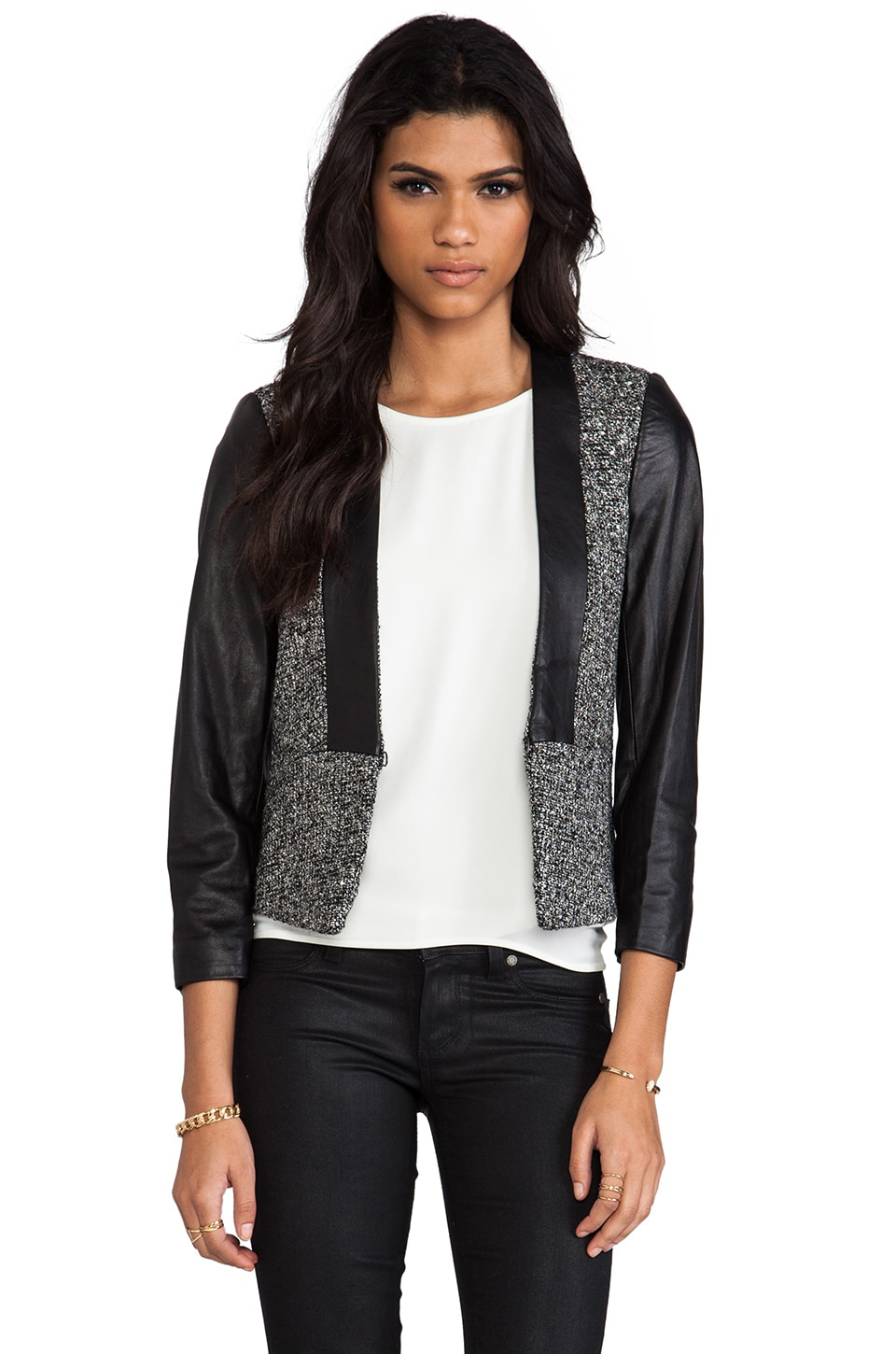 By Malene Birger Elegant Sway Chium Jacket in Black