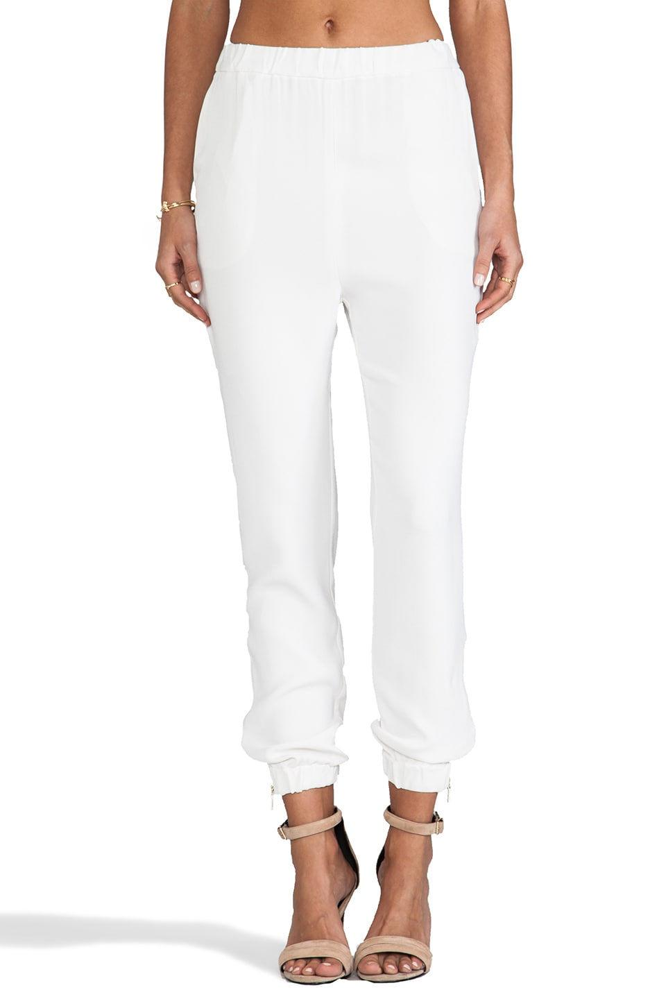 By Malene Birger Sexy Stretch Cosyh Pant in Cream