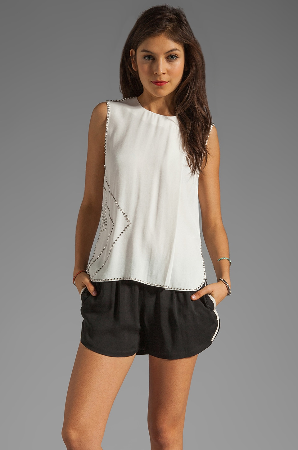 By Malene Birger Modern Flow Elluan Tank in Cream