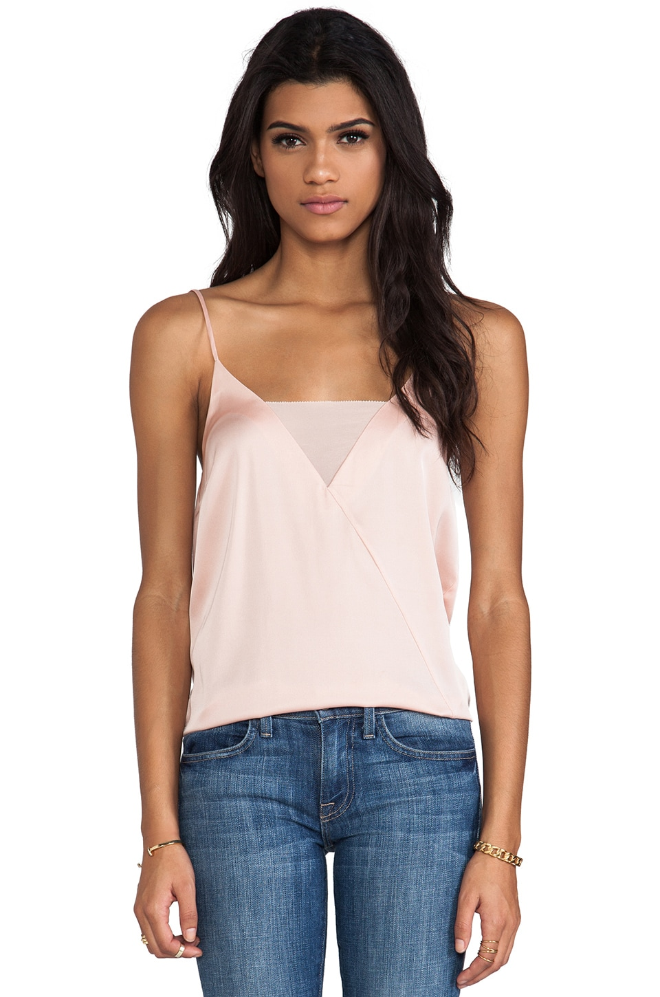 By Malene Birger Soft Delight Niharika Tank in Rose Powder