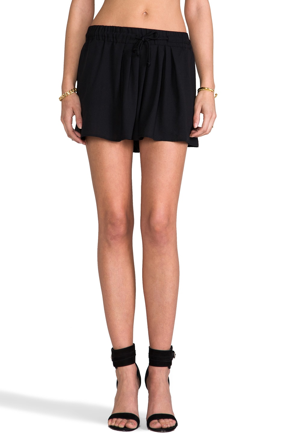 BY ZOE Tania Shorts in Black
