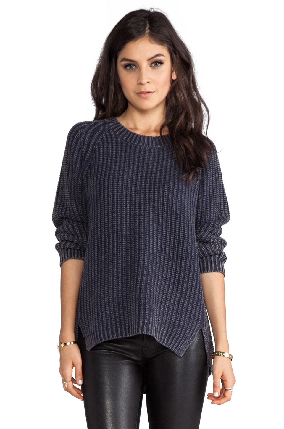 BY ZOE Pez Pullover in Marine