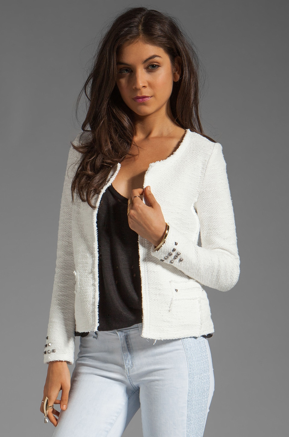 BY ZOE Stern Jacket in White