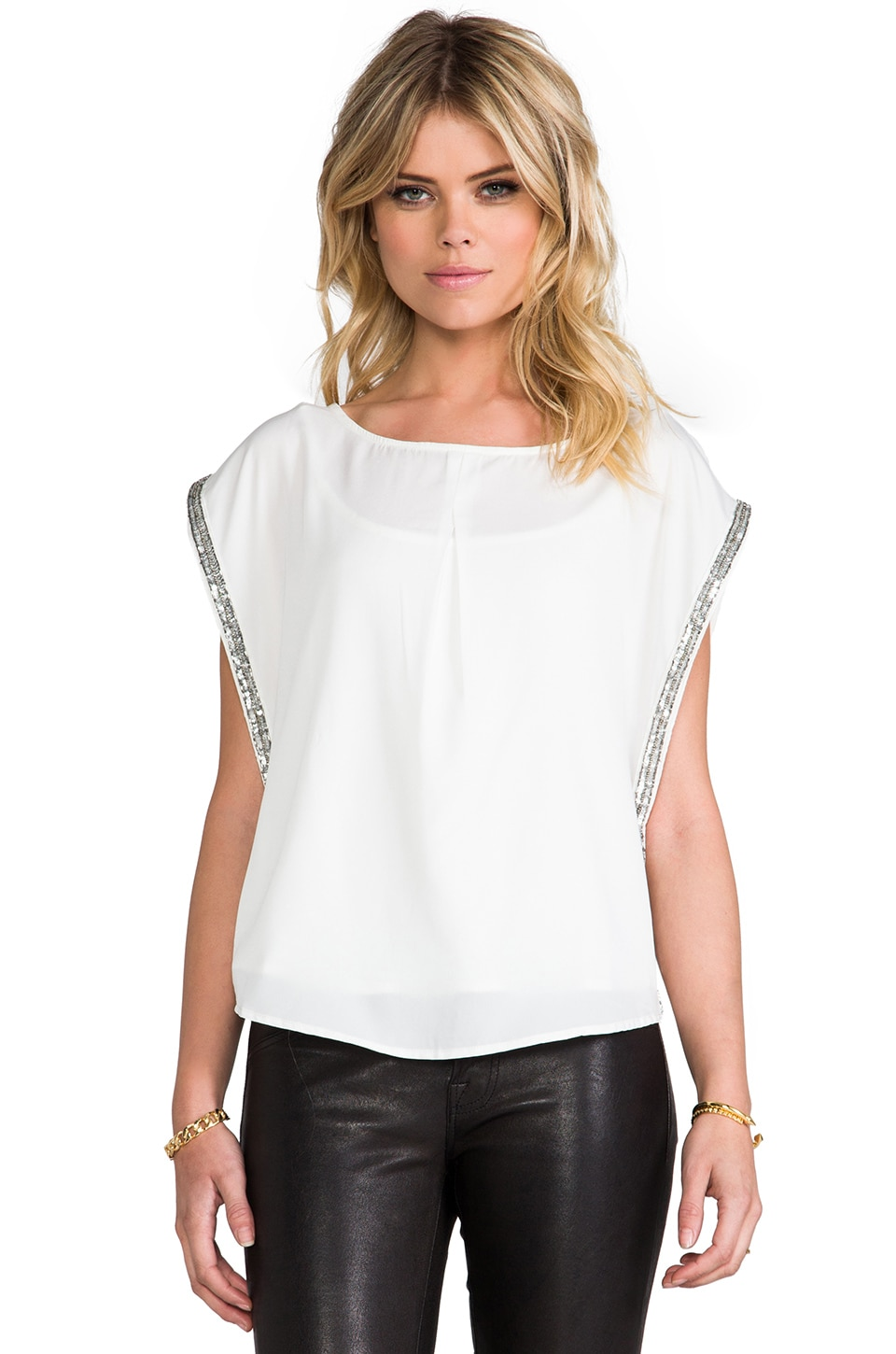 BY ZOE Calvi Tank in Off White