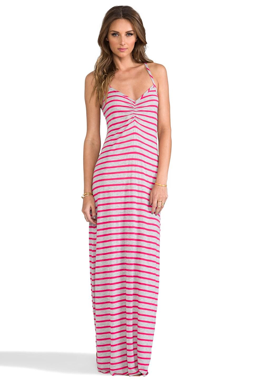 CA by vitamin A Erica Dress in Heather Stripe Rose