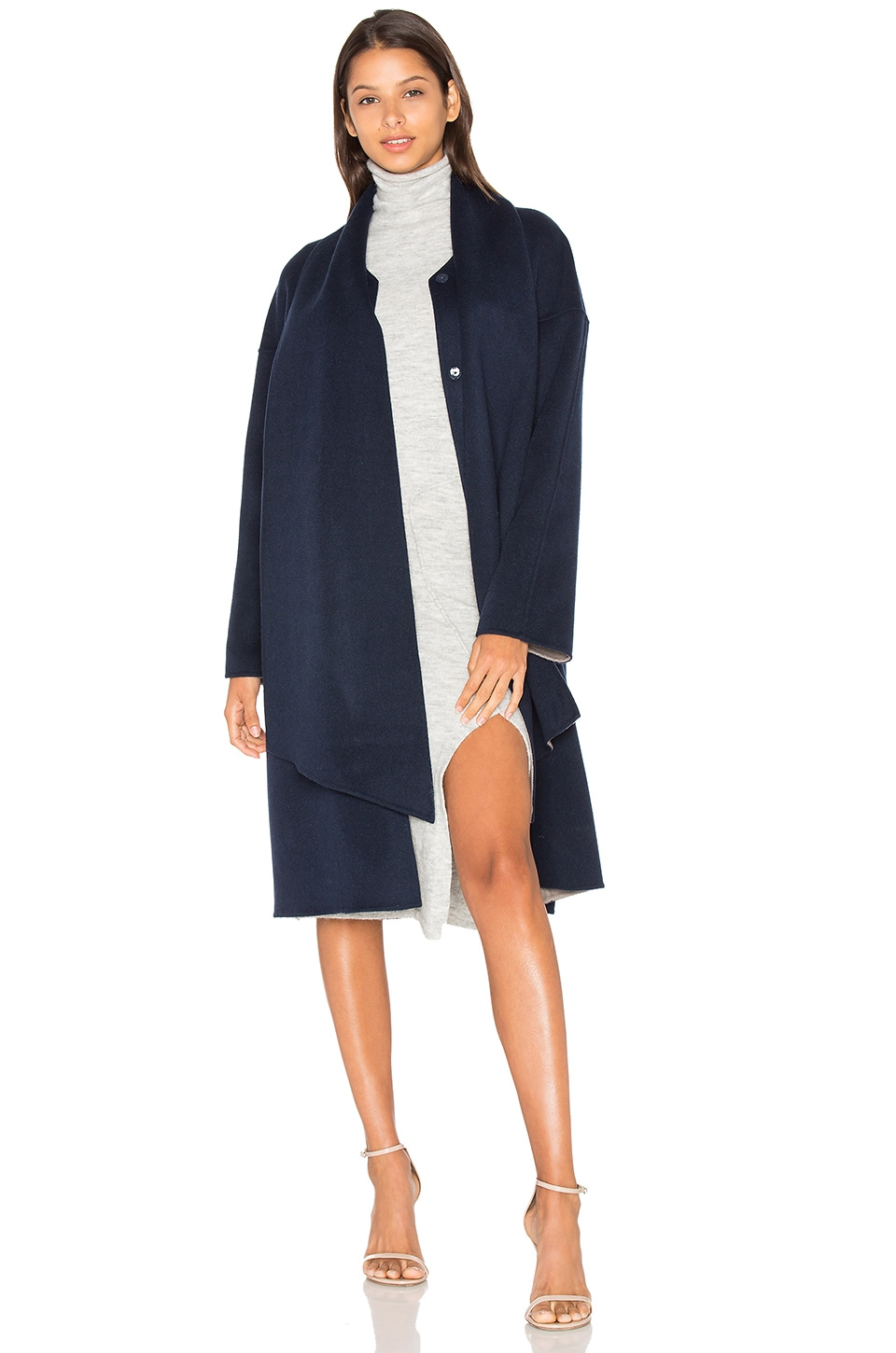 Merino Belted Coat by cacharel