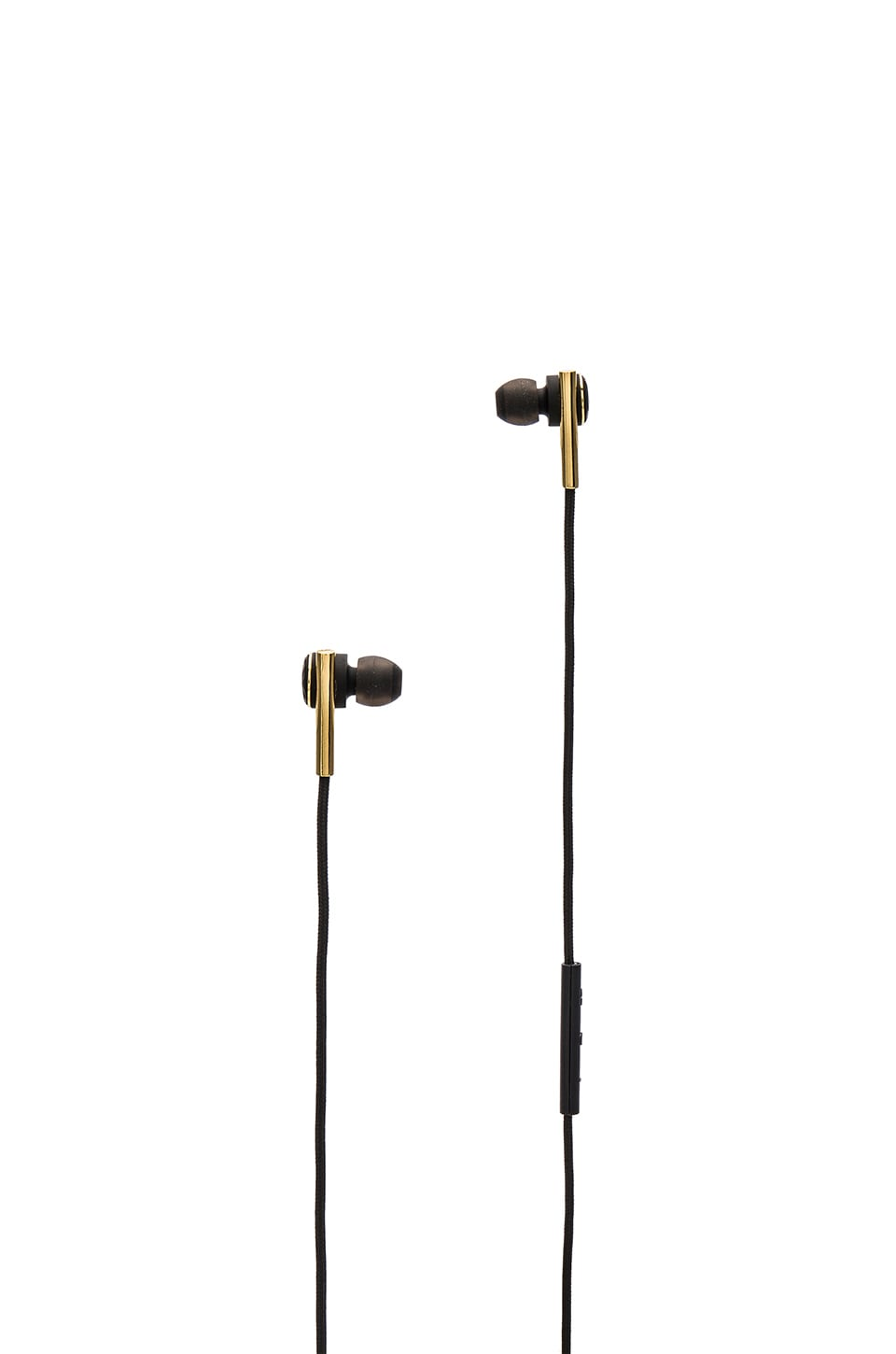 Caeden Linea No.2 In Ear Headphones in Faceted Carbon & Gold