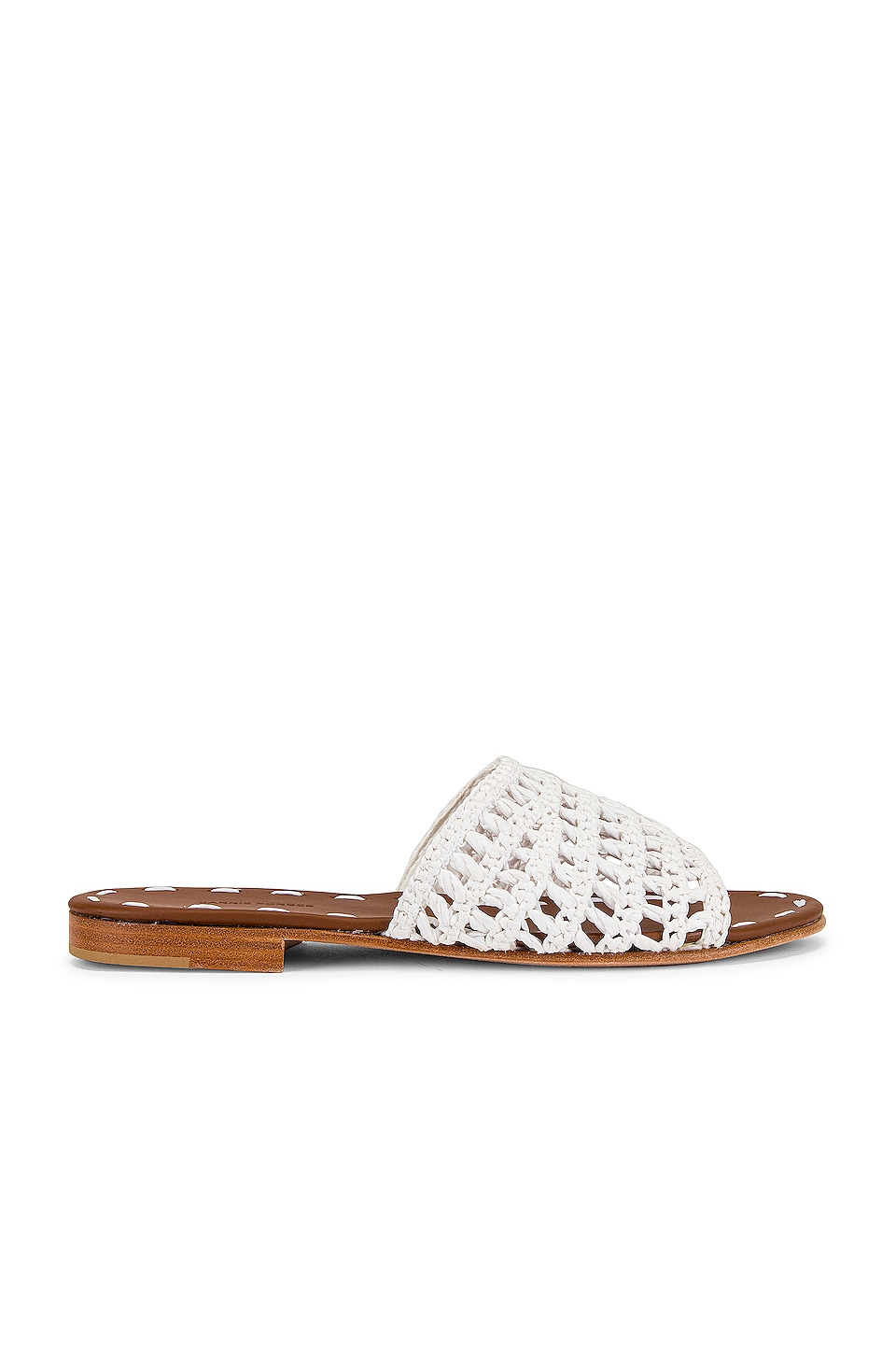 Carrie Forbes Mour Sandal in Blanc