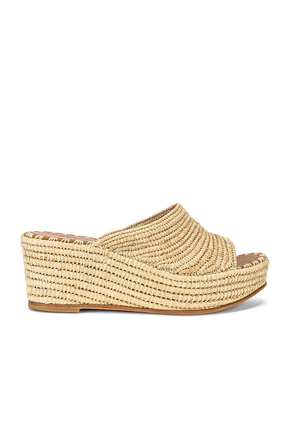 Carrie Forbes Karim Wedge in Natural