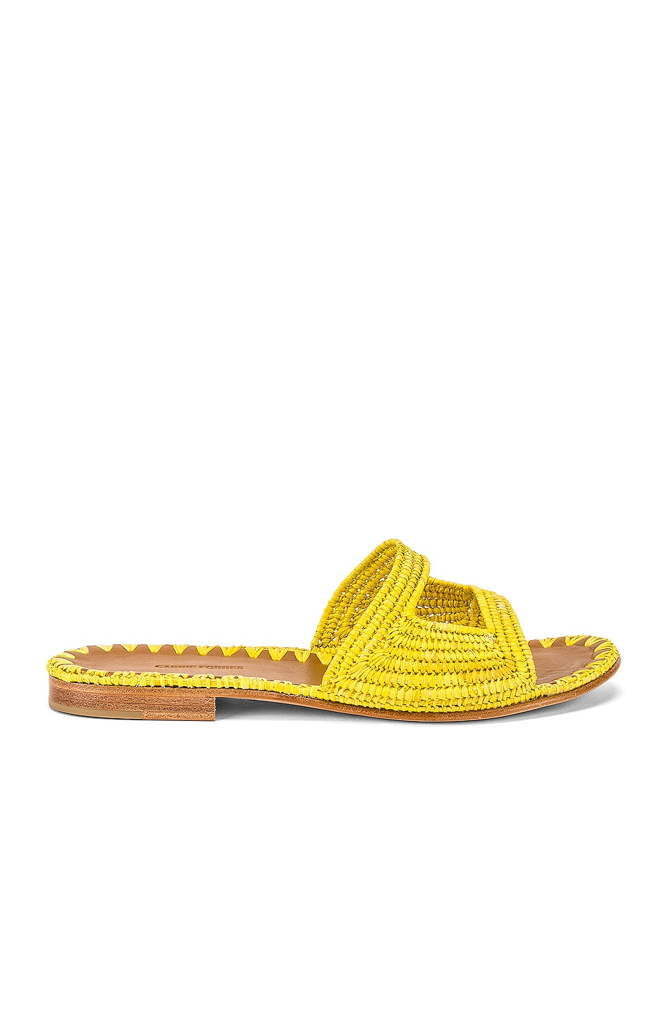 Carrie Forbes Vide Sandal in Jaune