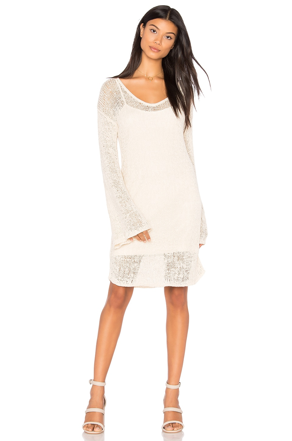 Open Weave Bell Sleeve Dress by Callahan