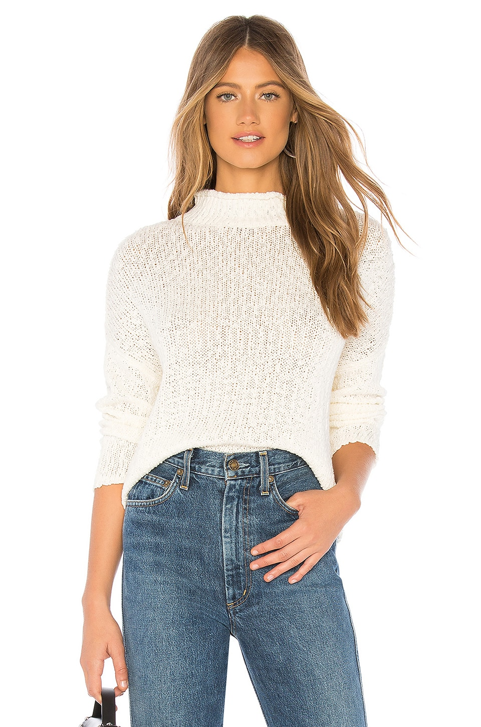 CALLAHAN Liva Sweater in White