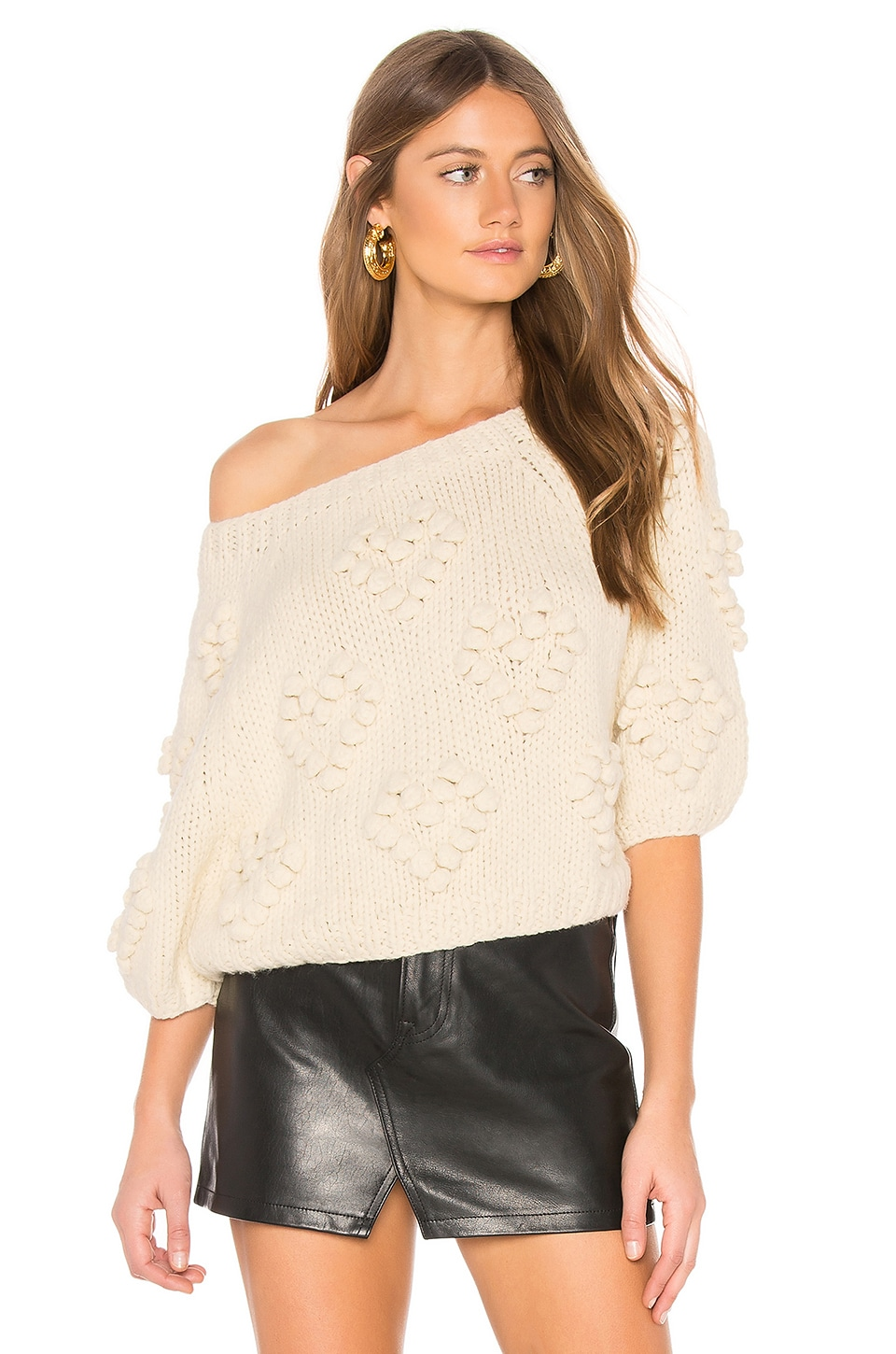 CALLAHAN Coeur Sweater in Cream