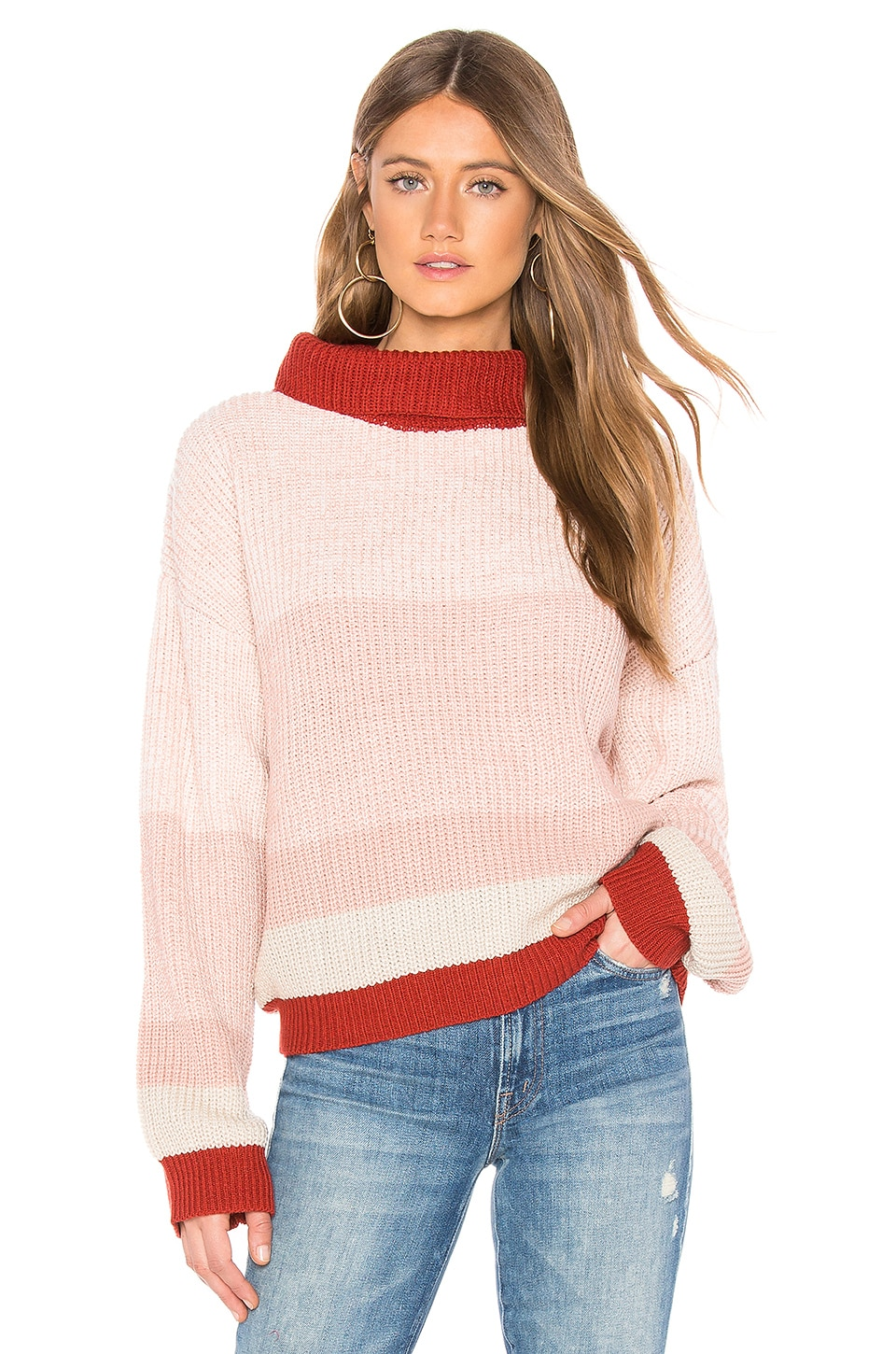 CALLAHAN Nathalee Sweater in Pink