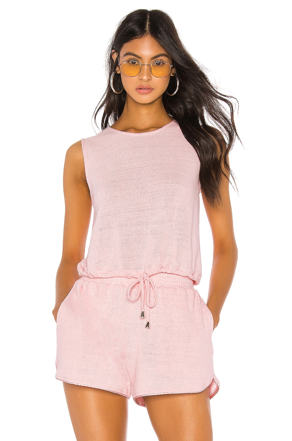 Callahan Coco Tank in Baby Pink