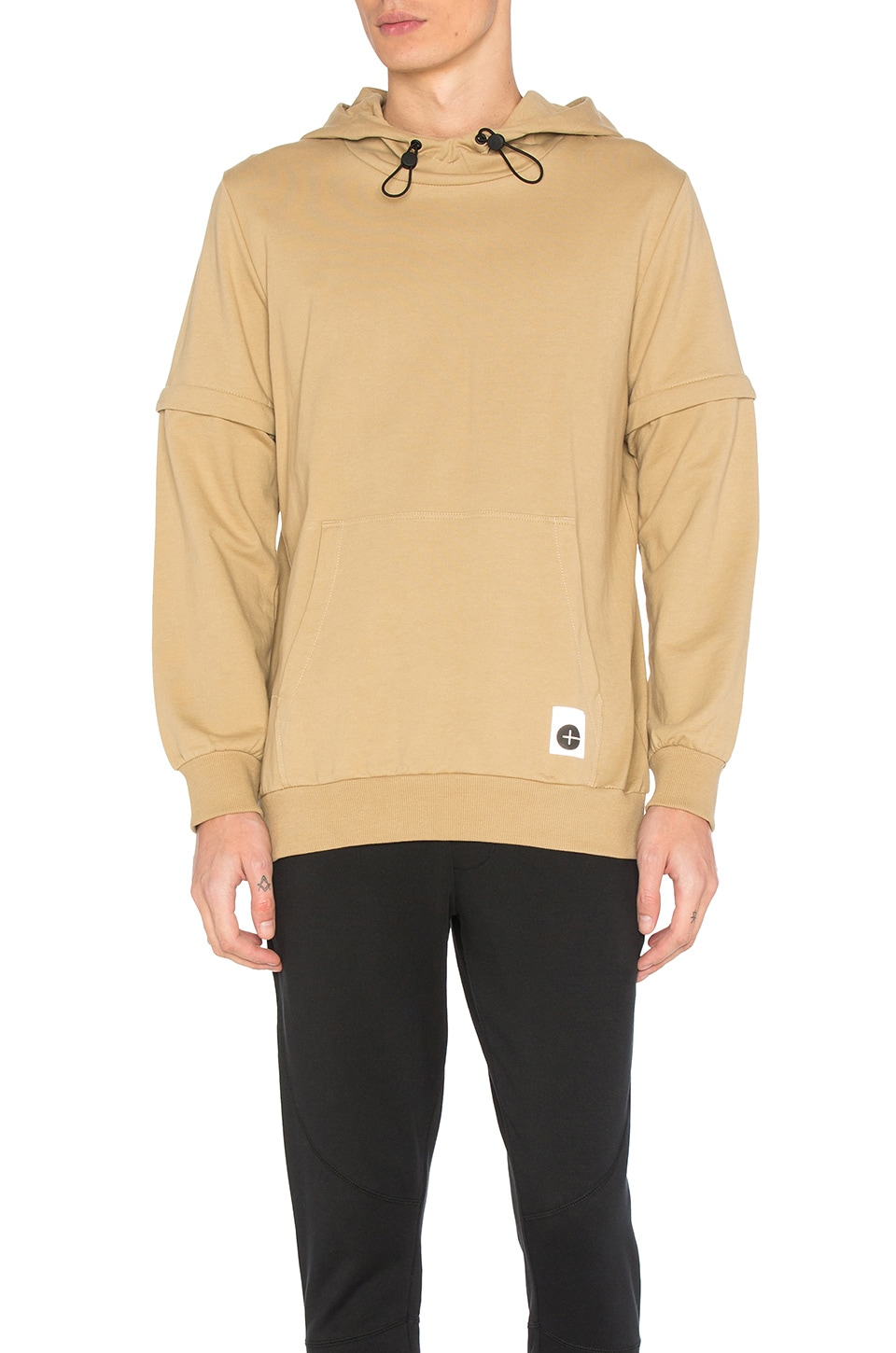 Empire Zip Off Sleeve Hoodie by Cahill+