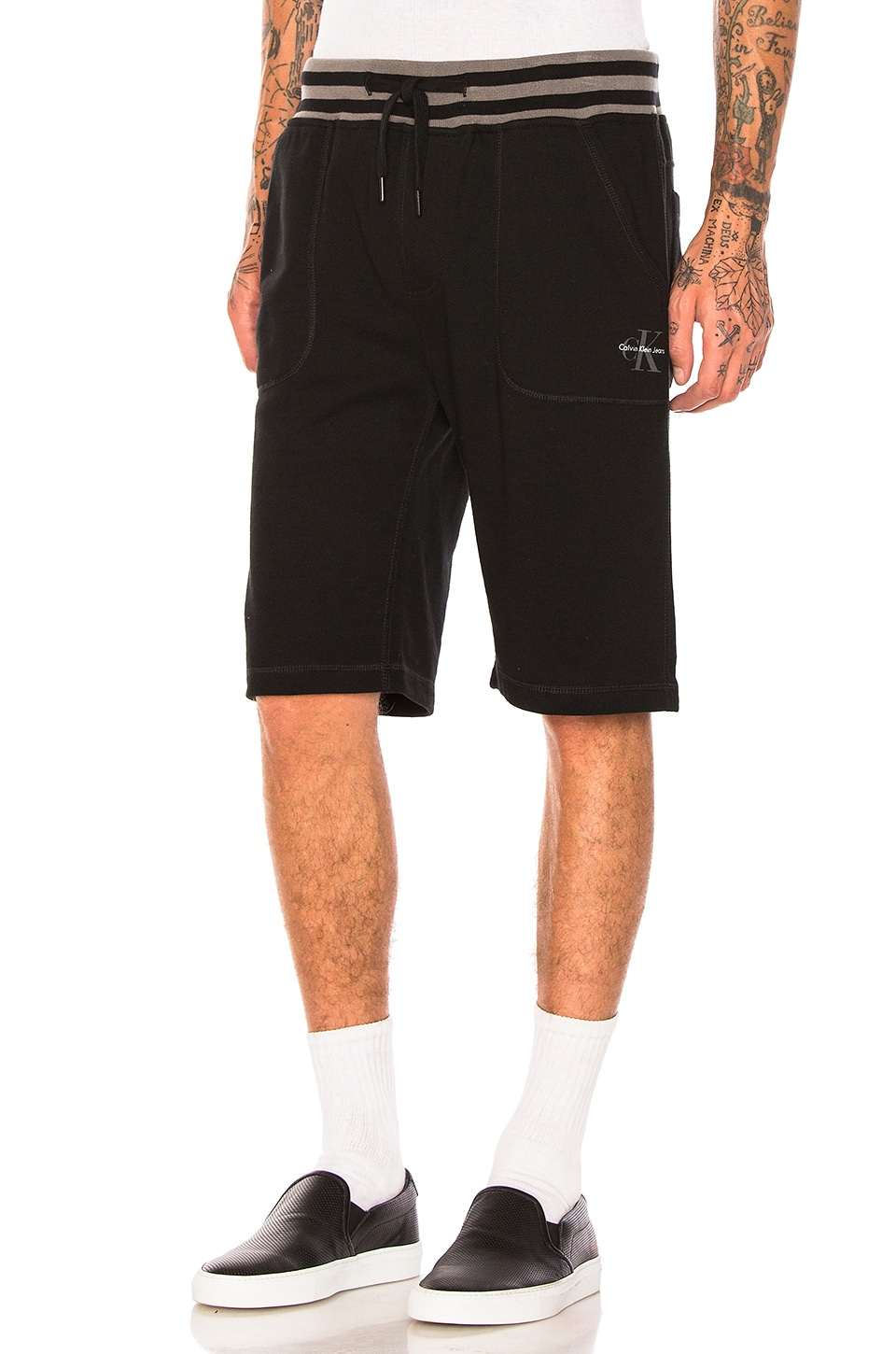 Photo of Reissue Tipping Waistband Shorts by Calvin Klein men clothes