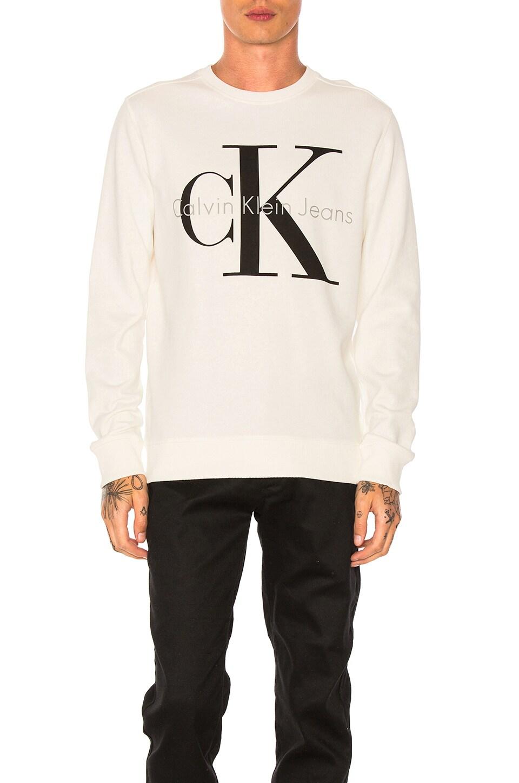 Reissue Logo Sweatshirt by Calvin Klein