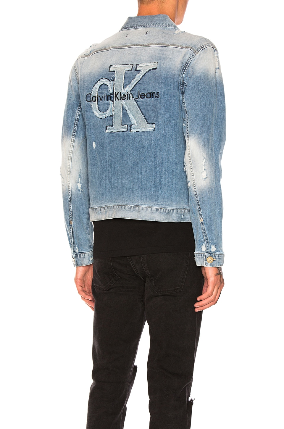 Applique Trucker Jacket by Calvin Klein