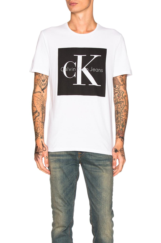 calvin klein t shirt logo