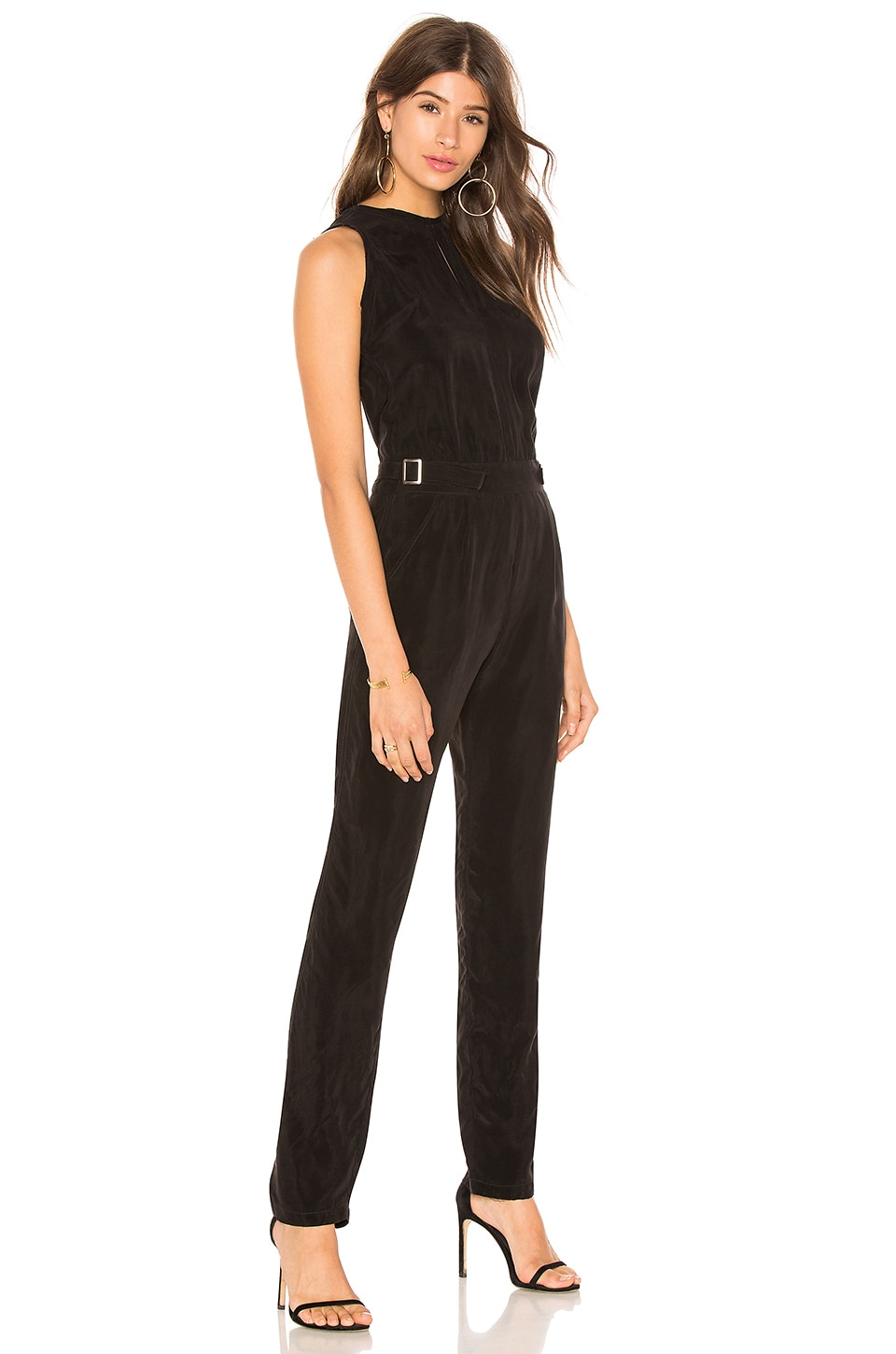 CALVIN RUCKER I Melt With You Jumpsuit in Black