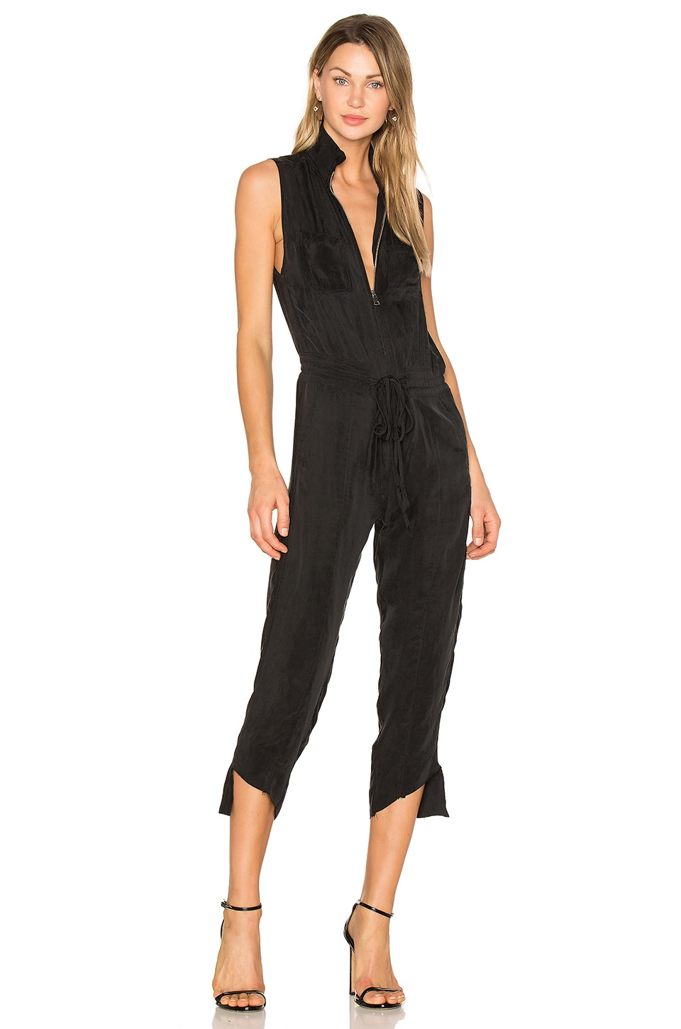 Calvin Rucker What's Luv Jumpsuit in Black