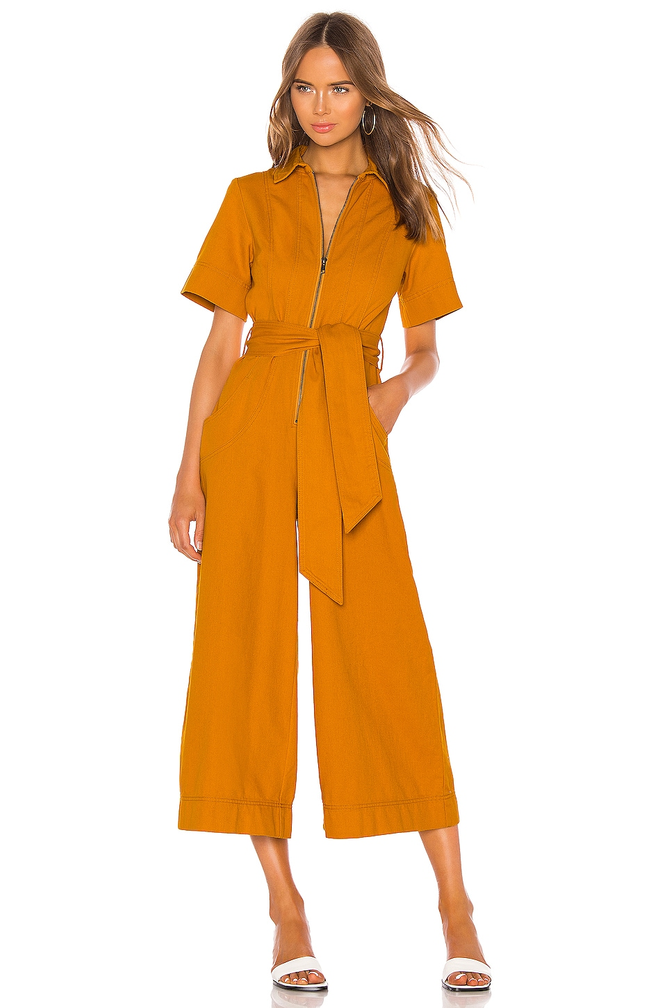 C/MEO Regardless Jumpsuit in Mustard