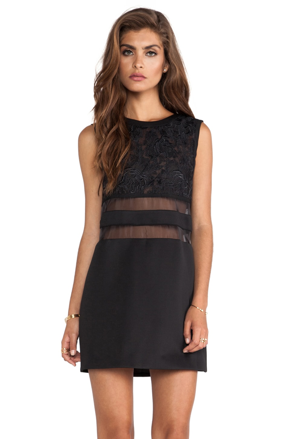 C/MEO Little Dreams Dress in Black