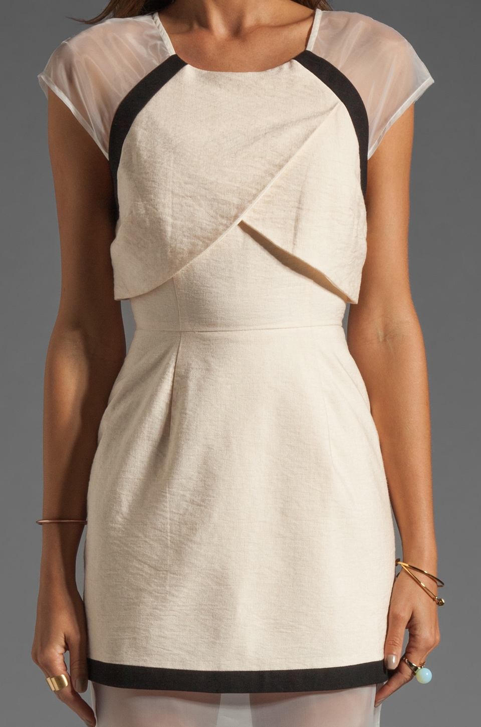 C/MEO Day One Dress in Shell