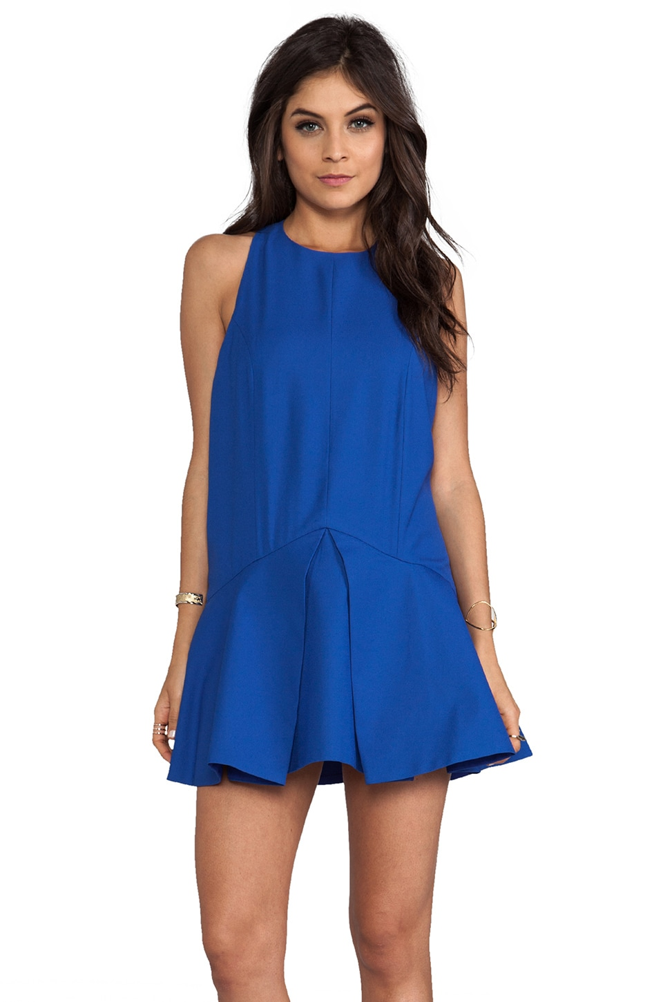 C/MEO Bless This Mess Dress in Pacific Blue
