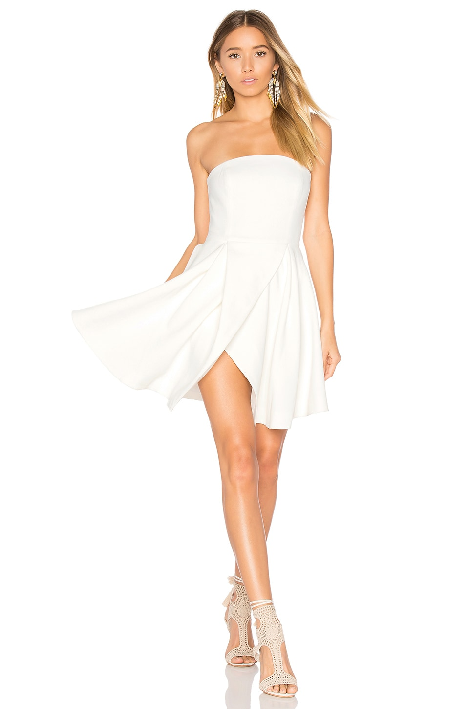 C/MEO Flawless Dress in Ivory
