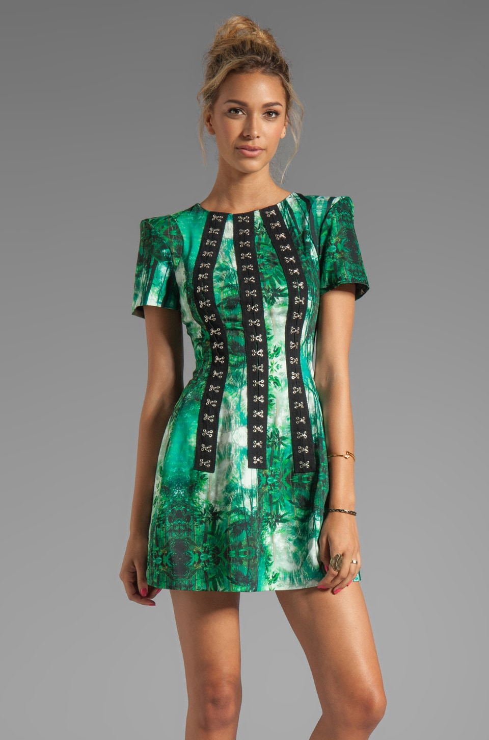 C/MEO Star of Wonder Dress in Rainforest
