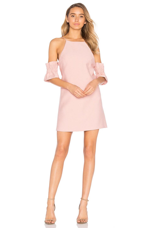 C/MEO Double Take Mini Dress in Musk