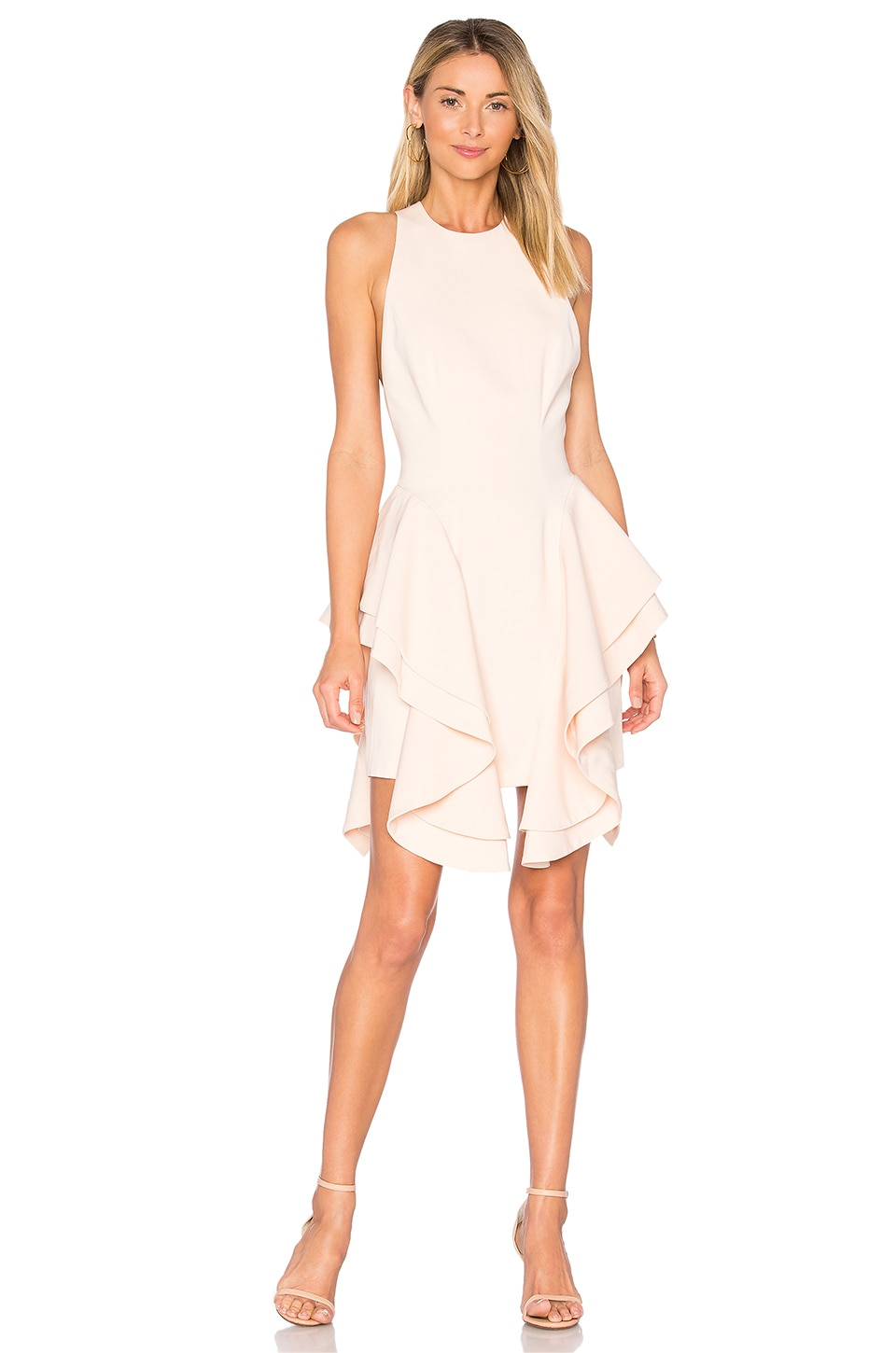 C/MEO Enlighten Mini Dress in Pearl
